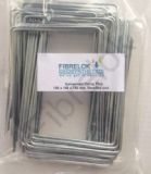 50 Galvanised Fixing Pins 150mm x 100mm x 150mm